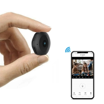 Wi-Fi Spion Kamera - MicroCam med Night Vision